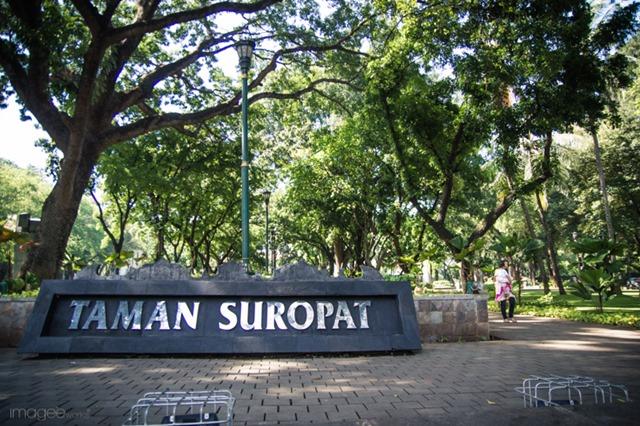 Taman Suropati | the atmojo