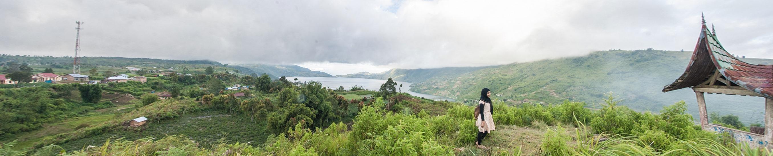 danau kembar alahan panjang | the atmojo