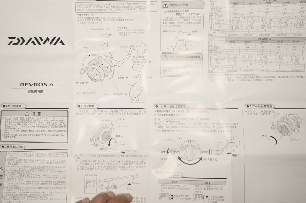 Review Reel Daiwa Revros A 3000H   the atmojo