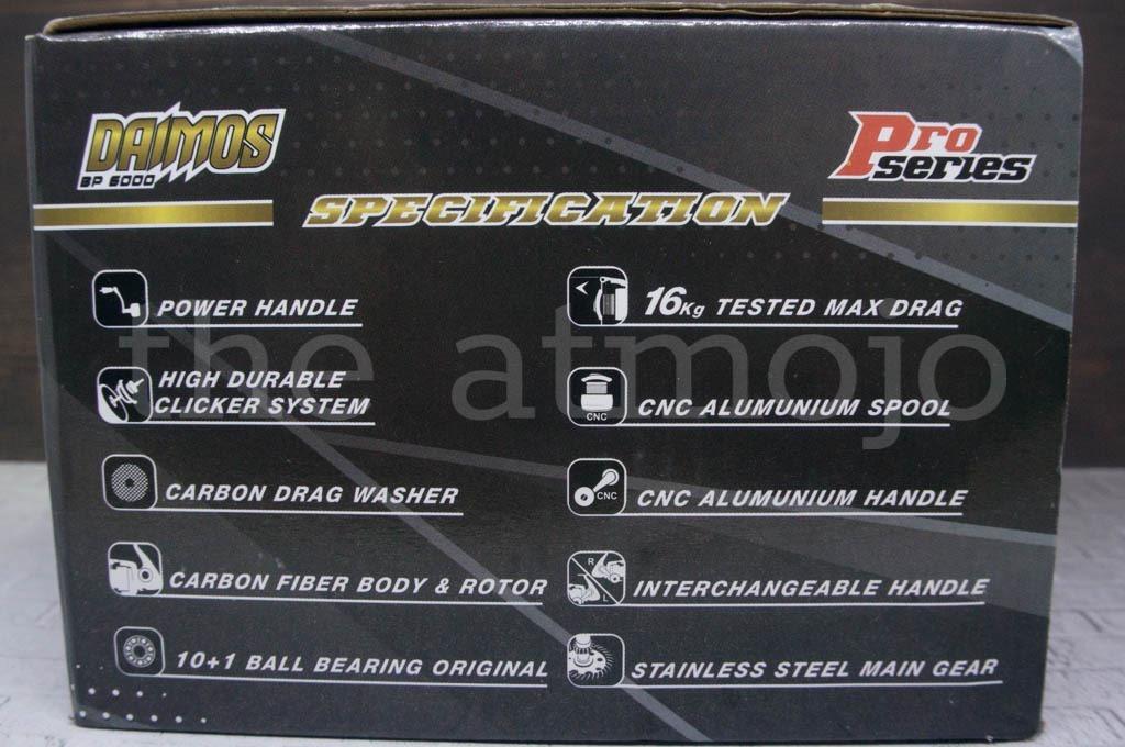 Review Reel Daido Daimos Pro Series 6000 | the atmojo