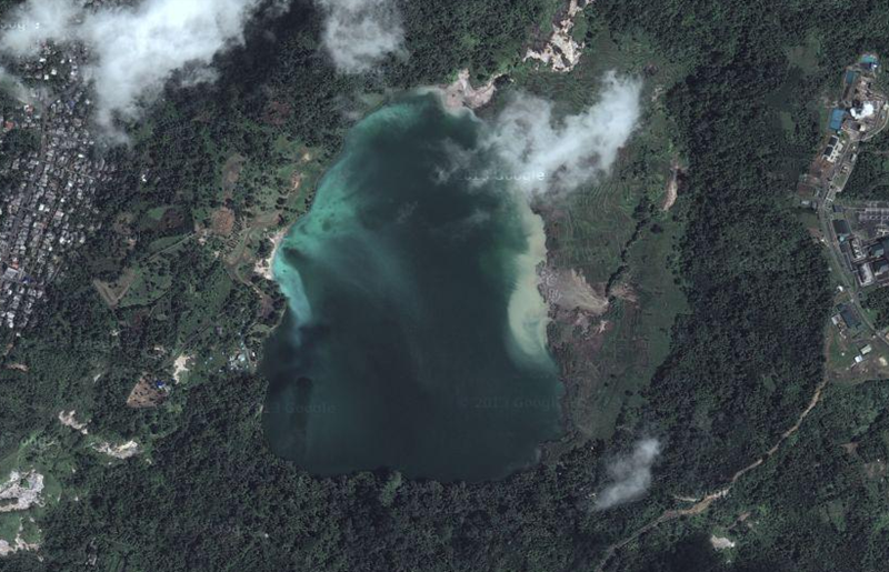 Singgah Sore di Danau Linow | the atmojo